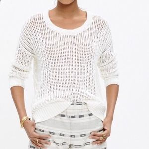 Madewell Northshore Pullover Loose Knit Sweater